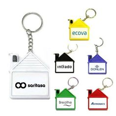 c17ca96c2004 Get Free Shipping on Best Seller s Personalized House Shape Tape Measure  Keychains. 100 Tape Measures