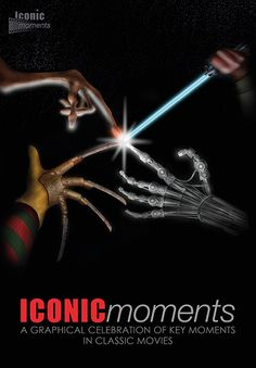 Iconic Moments The Terminator Movie Poster - Created by Steven Parry - www.stevenparry.net