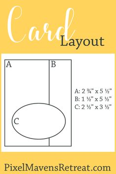 Get more card layouts like this one over at my blog! pixelmavensretreat.com #pmretreat #crafttips #cards
