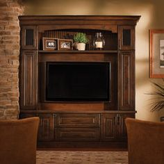 Entertainment Center Cabinetry From Dura Supreme