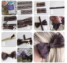 DIY bow, Erin this looks cute and easy