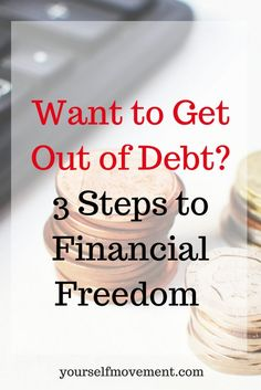 Take control over your money. Being in the shadow of constant debt is no fun. Find out how to break the debt chains.