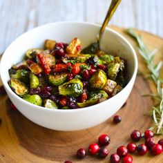 Cranberry Roasted Winter Vegetables are a much more exciting (and DELICIOUS!) alternative to plain brussels sprouts.