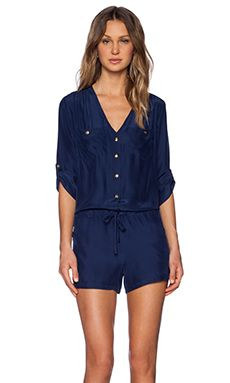 Shop for Amanda Uprichard Pocket Romper in Navy at REVOLVE. Free 2-3 day shipping and returns, 30 day price match guarantee.