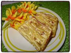 Cake de pomme de terre à la crème de camembert