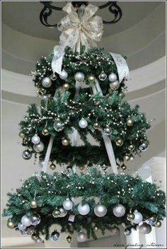Arbol navidad del techo