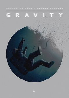 "los pósters alternativos de ""gravity"" - filmin"