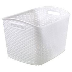 Y Weave Extra Large Storage Bin   White   Room Essentials™