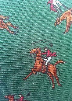 Ralph Lauren Silk Equestrian Tie   eBay
