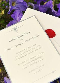 Replica #Twilight wedding invitations, Twilight wedding party anyone?