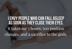 I envy people