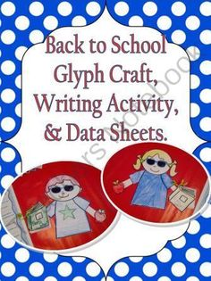 Back to School Get To Know Me Glyph Craftivity - Glyph Pencil from Teaching Heart on TeachersNotebook.com (8 pages)  - back to school craft / math activity / writing activity for your first, second, or third grade classroom. It is a great way for students to learn about their new classmates from reading the data supplied.