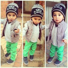 omg! who said boys weren't cute to dress!!!