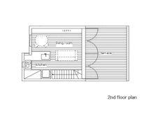 Casa Pequena com um Grande Terraço,Planta - 2º Pavimento