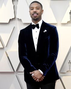 345215a3505c Michael B. Jordan wearing TOM FORD at the 2019 Oscars.