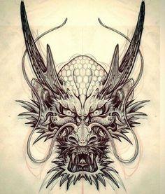 Znalezione obrazy dla zapytania dragon tattoo