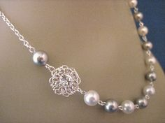Wedding+Jewlery+Crystal+and+Pearl+Choose+Your+Color+by+AnnsCrafts,+$24.00