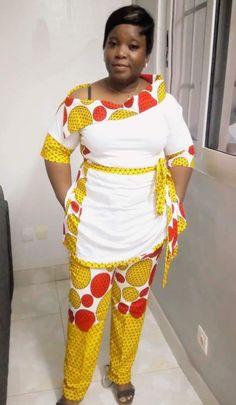 African Print Dresses, African Print Fashion, African Fashion Dresses, African Dress, Fashion Outfits, Womens Fashion, African Attire, African Wear, African Women