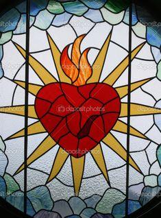 Sagrado corazón de Jesús — Foto de stock © zatletic #4923877