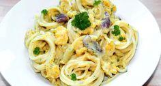 Pikáns sütőtökös spagetti recept