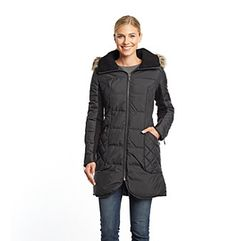 Jordan's Pick 1: BCBG Three Quarter Down with Quilted Sides