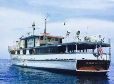 John Wayne's yacht Wild Goose.  Used to see it moored by his dock in Newport Beach
