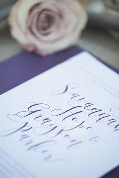 Elegant Southern Style Mansion Wedding | Gray and Lavender | Elegant Purple…