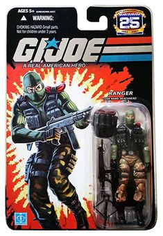 G.I. Joe 25th Anniversary: Beachhead (Ranger) 3.75 Inch Action Figure