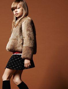 Best of kids fashion Fashion Kids, Girl Fashion, Winter Fashion, Pretty Kids, Cool Kids, Kenzo Kids, Kids Coats, Shearling Coat, Cashmere Sweaters