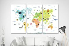 Kids world map nursery world map canvas world map poster world map animal map poster world map art nursery map wall art world map child world map for kids world map nursery wall maps for kids map kids gumiabroncs Image collections