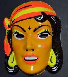 Remember these vintage Halloween masks?
