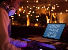 New Mockup Template! DJ at a Party with Macbook Pro. Try it here: https://placeit.net/stages/macbook-pro-mockup-template-of-dj-at-a-party