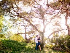 Leo Carrillo Ranch engagement | photo by Jen Fellows of Acqua Photo | 100 Layer Cake