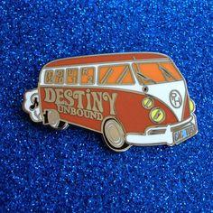 Summer Tour Bus (Orange) - Phish Pin