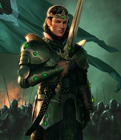 My father, King Arthur... King of Hollowshore. Ruler of the lands.. with his sword at his side nothing will get past by him. Strong, loving, a father. But a King.