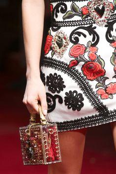 Dolce & Gabbana collection printemps-été 2015 #mode #fashion #détails