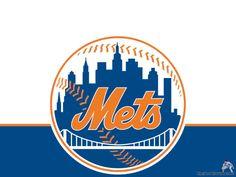 New York Mets Logo Wallpaper Baseball Sport Wallpaper Collection