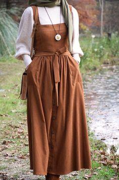 Modesty Fashion, Muslim Fashion, Fashion Dresses, Hijab Mode, Troyer, Hijab Fashion Inspiration, Fashion Ideas, Looks Vintage, Mode Outfits