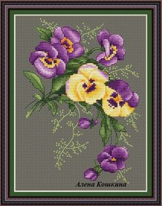 Cross Stitch Pattern PDF canvas embroidery by CrossStitchPaternss Cross Stitch Love, Cross Stitch Needles, Cross Stitch Fabric, Cross Stitch Cards, Cross Stitch Flowers, Counted Cross Stitch Patterns, Cross Stitch Designs, Cross Stitching, Cross Stitch Embroidery