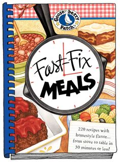 Fast-Fix Meals cookbook is now available as a handy eBook