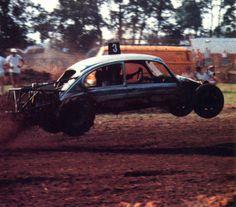 rallycross VW Beetle Jump