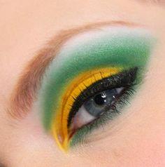 Beautiful Eye Makeup, Love Makeup, Makeup Looks, Packers Baby, Green Bay Packers, Packers Gear, Eye Makeup Tips, Eyeshadow Makeup, Makeup Ideas