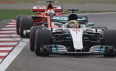 Lewis Hamilton logra en China la segunda pole del año para él y la escudería Mercedes