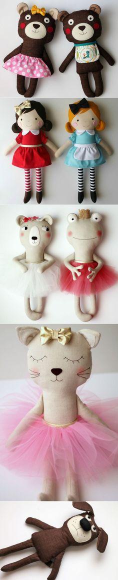 Las muñecas de trapo y juguetes de Anabela Félix                                                                                                                                                                                 Más