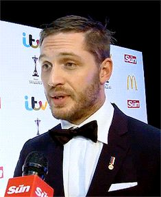 Tom Hardy at the Sun Military Awards, December 2013