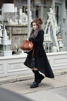 Helena Bonham Carter ✾ March 16th 2015.