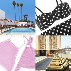 The Hottest LA Poolside Bars and Their Swimsuit Soulmates | The Zoe Report