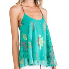 New Jade Boho TOP Jade Boho Top by SURF GYPSY | Beautiful design + color. Flowy style, simply a must have! SURF GYPSY Tops Tank Tops