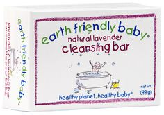 #Earth Friendly Baby Lavender #Cleansing Bar available online at http://www.babycity.co.uk/