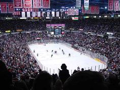 Joe Louis Arena, Home to the be-loved Detroit Red Wings.  Can't get here enough.  Hockey Town.
